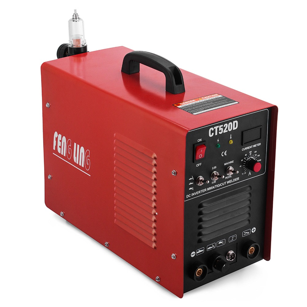 CT520D 3 in 1 Plasma Cutter TIG MMA Welder Cutting Welding Machine CT312