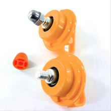 None Stainless Steel Bearing Shaft Nut for All Square Hole Running Wheel Hamster Toy