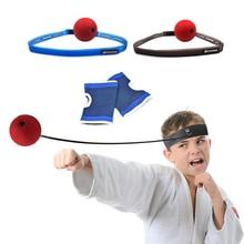 Оборудование для боев, бокса, скоростного мяча, головная повязка, рефлекторный тренажер, тренировочный боксерский удар, Муай Тай, упражнения, быстрая