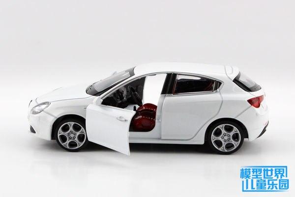 Free Shipping White Alloy Model Cars Toy For Children Alfa - Alfa romeo model cars