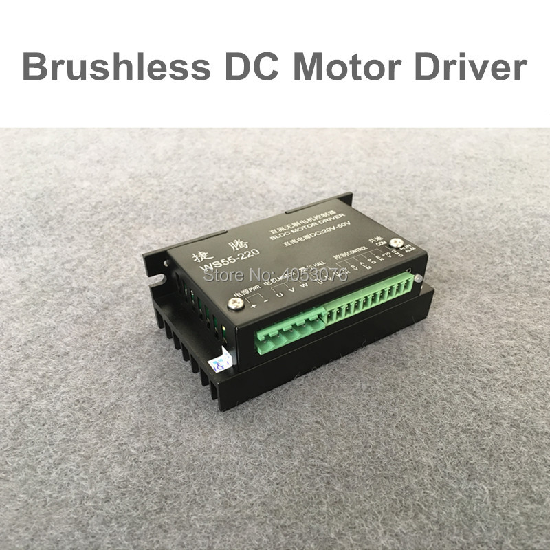 цена на New CNC Controller DC 20-50V Stepper Motor Driver Brushless DC Driver For 500W Spindle Motor
