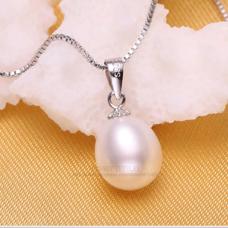 FENASY טבעי פרל צמיד שרשראות & תליוני עגילי תכשיטי סטים לנשים פרל שרשרת/עגיל/צמיד חתונה