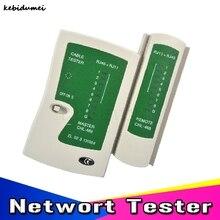 Kebidumei сетевой Lan Кабельный тестер Cat 5 Cat 5e Cat 6 кабели utp с RJ-11 RJ-45 телефонная проводка детектор линии инструмент для поиска комплект
