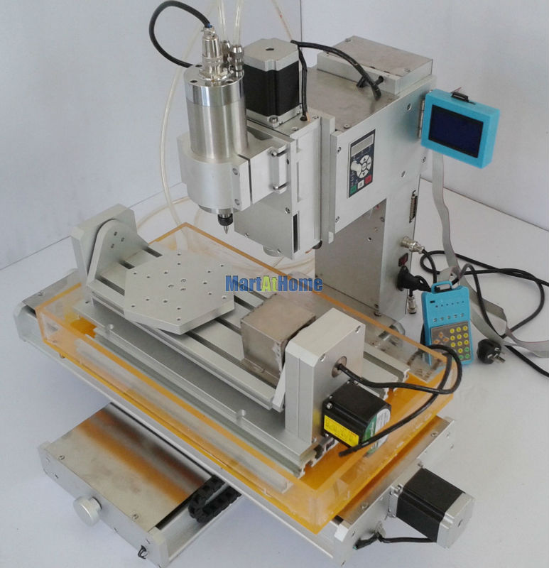 High-precision 1.5KW 5 Axis 3040 CNC Engraving Router Machine Table LCD 110V/220V AC 1500KW VFD for Metal Wood Engraving #SM713  high precision table moving 4 axis cnc mini router 3 axis mini cnc router metal engraving machine 3030 4040 6060