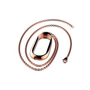 Image 4 - Mi עבודות עבור שיאו mi Band 3 גרסה מתכת מקרה שרשרת קישוט mi Band 3 תליון מגן כיסוי אבזרים