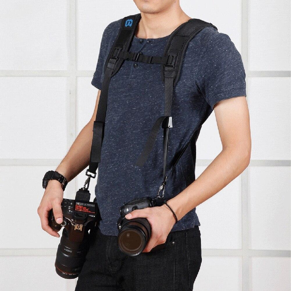 Metal Hook Digital Camera Shoulder Pad Strap Personalize Carry Speed Single Neck Sling Belt For SLR DSLR Canon Nikon Sony Camera