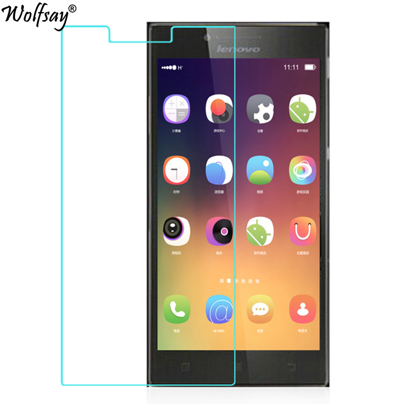 2PCS For Glass Lenovo P70 A Tempered Glass For Lenovo P70A Screen Protector For Lenovo P70 Protective Film P70A P70T Wolfsay