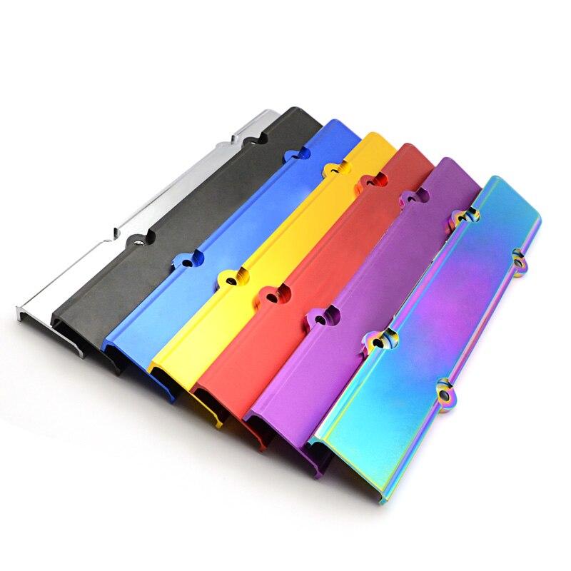 혼다 시빅 b16 b18 FS-SK02 로고가있는 1 pcs 알루미늄 점화 플러그 커버 b-serie