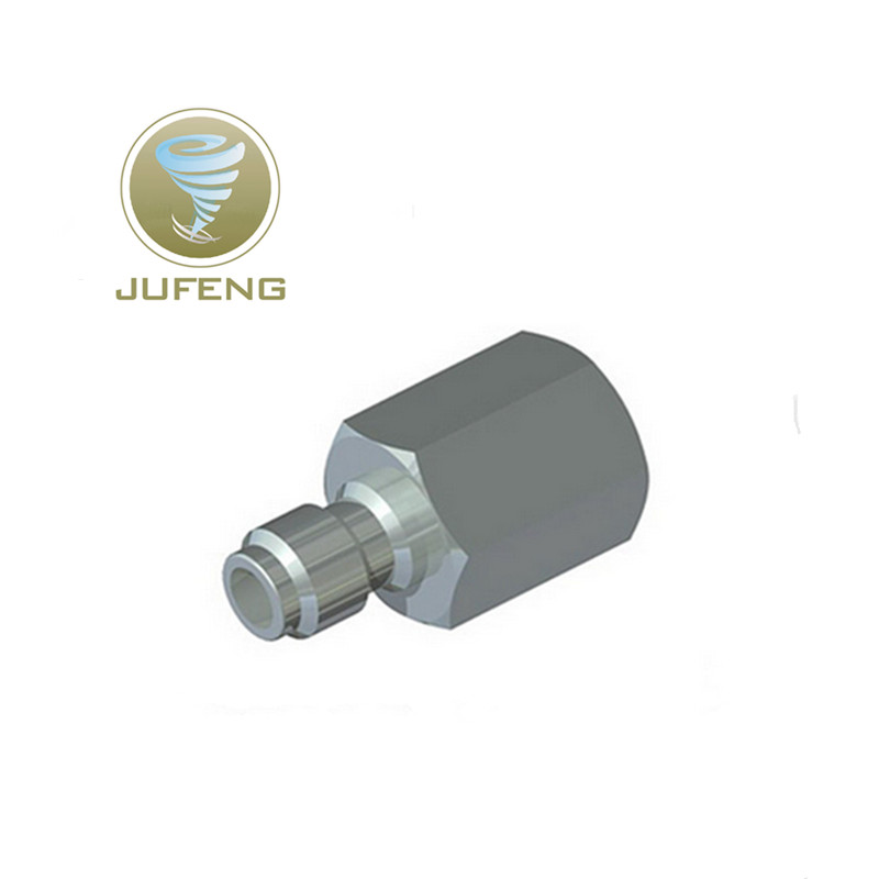 Jufeng Stainless Steel  Airforce Air Gun PCP Male Quick Disconnect  Adaptor Female Thread 1/8NPT Fill Nipple For  PCP Pump 50pcs brass pipe fitting hex nipple joint 1 81 4x1 81 43 8x1 83 8x1 4 npt male thread plumb water gas connector accessory
