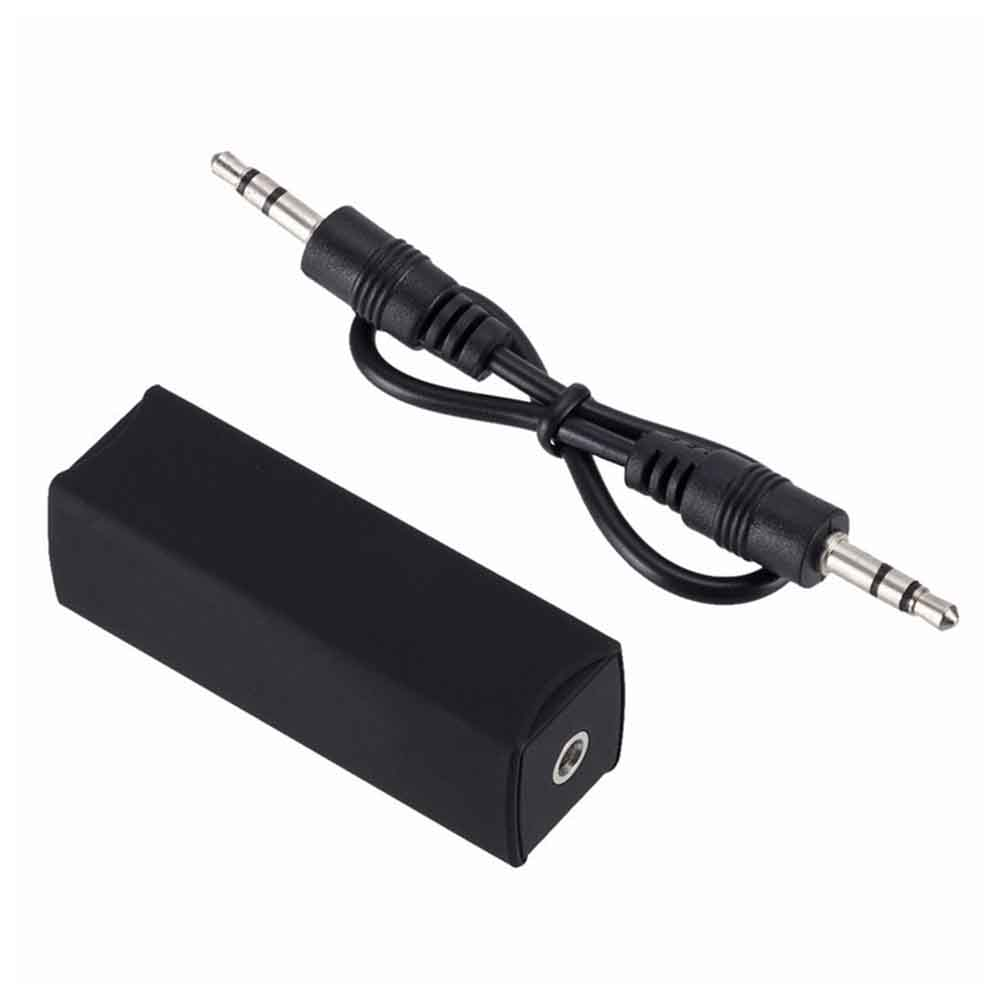 Audio Common Ground Isolator For Car Audio System Anti-interference Noise Reducer Noise Filter Eliminater Bluetooth Receiver