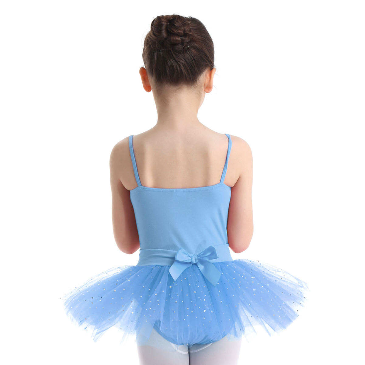 Girl Ballet Dance Tutu Sling Dress Leotard Gym Dancewear Costume Skirt Size 3-14
