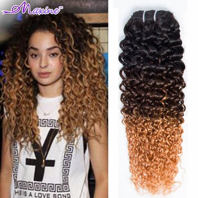 Ombre curly hair 4 bundles ombre hair extensions malaysian deep ombre curly hair 4 bundles ombre hair extensions malaysian deep wave 3 tone malaysian virgin hair urmus Images