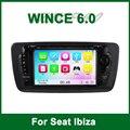Автомобильный Dvd-видео Плеер GPS для Seat Ibiza 2009 2010 2011 2012 2013 с Радио Bluetooth поддержка Wi-Fi 3 Г ТВ Ipod