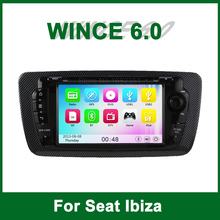 Carro DVD Player De Vídeo GPS para Seat Ibiza 2009 2010 2011 2012 2013 com Rádio Bluetooth apoio Wifi 3G TV Ipod