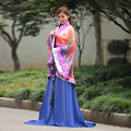 Elegante de alta qualidade de fadas da princesa cosplay Traje roupas de dança das Mulheres de Luxo rainha hanfu Chinês antigo vestuário