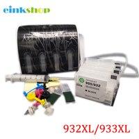 Einkshop CISS Voor HP 932 933 Continue Inkttoevoer Systeem Met ARC Chip voor HP Officejet 6100 6600 6700 7110 7610 7612 Printer