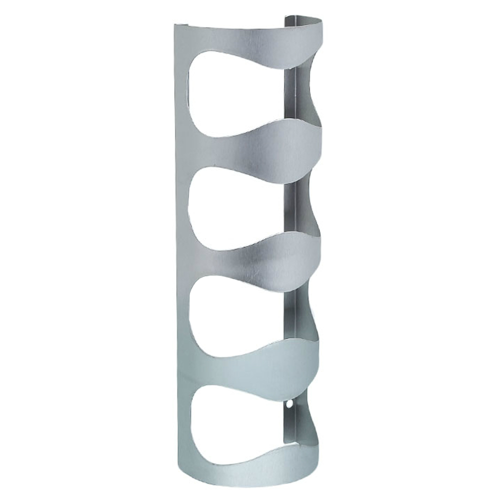 New Heavy Duty Wine Bottle Rack Stainless Steel Wine Mounted Rack