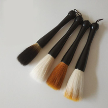 4 piece Chinese calligraphy painting brush cute hair writing brushes drawing paint brushes set high quality 4 colors big letters excellent quality chinese calligraphy brushes complete set painting supplies calligraphy brushes multiple hairs writing brush