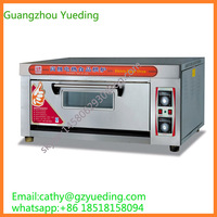 Reliable single Deck Double Tray Bakery Bread Machine / Energy Efficient Electric Bakery Oven / Electric Oven of China