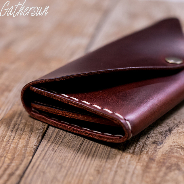 2017 Special Offer New Gathersun Brand Original Design Handmade Cowhide Wallet 100%genuine Leather Women's Vintage Style Long