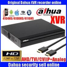 Dahua XVR vidéo enregistreur XVR4104HS XVR4108HS XVR4116HS 4ch 8ch 16ch 720 P dvr enregistreur Soutien HDCVI/AHD/TVI/CVBS/IP Caméra