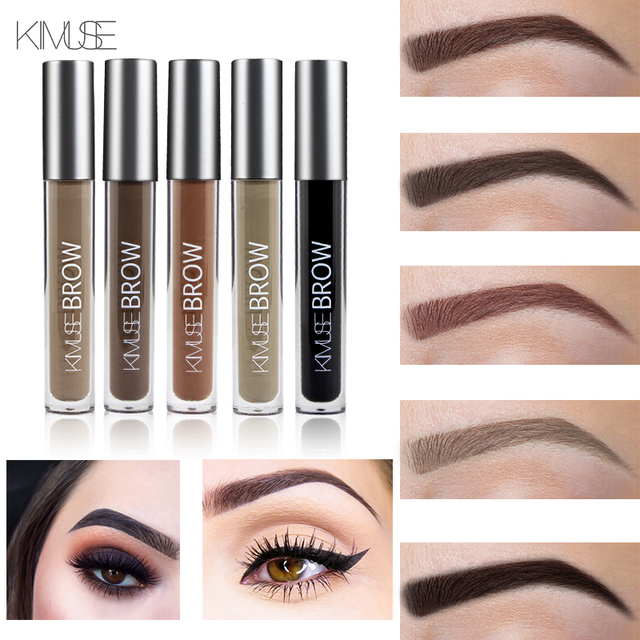 Kimuse Makeup Eyebrow Gel Perfect Eye Brows In 2 Mins Black Brown