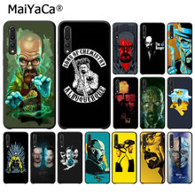 MaiYaCa Breaking Bad chemii Walter luksusowe wysokiej klasy futerał ochronny do Haiwei P10 plus Honor 9 10 zobacz 10 mate 9 Coque Shell(China)