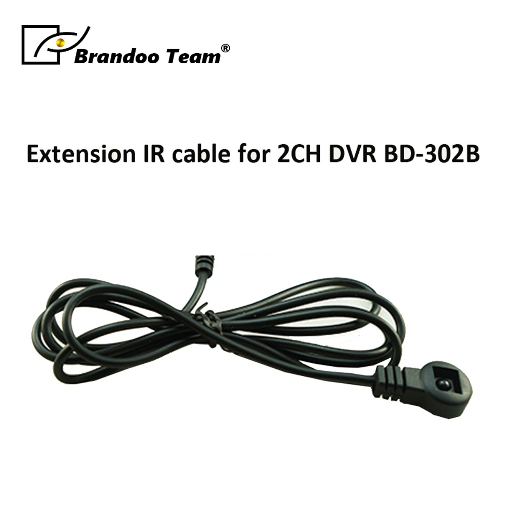 Extension IR receiver for Brandoo 2CH D1 MDVR BD-302BExtension IR receiver for Brandoo 2CH D1 MDVR BD-302B