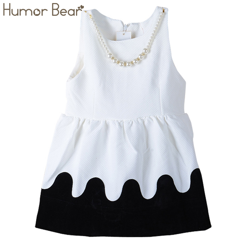 Humor Bear Girls Dresses Brand Autumn&Winter Princess Dress Kids Clothes for Baby Girls Clothes Children Clothing