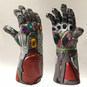 Avengers 4 Endgame Iron Man Infinity Guanto di Sfida Hulk Cosplay Braccio Thanos Guanti In Lattice Braccia Maschera Marvel Superhero Arma Puntelli Del Partito