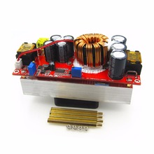 цена на 1500w 30a Dc-dc Boost Converter Step-up Power Supply Module In10~60v Out 12~90v New Electric Unit 5pcs