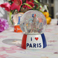 With No Light Snow Crystal Ball More Style Resin Handicraft Household Desktop Place Adorn