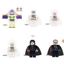 Única História Buzz Lightyear Figuras Harry Potter Severus Snape Cristal Ron Weasley Madame Hooch building block brinquedos para as crianças