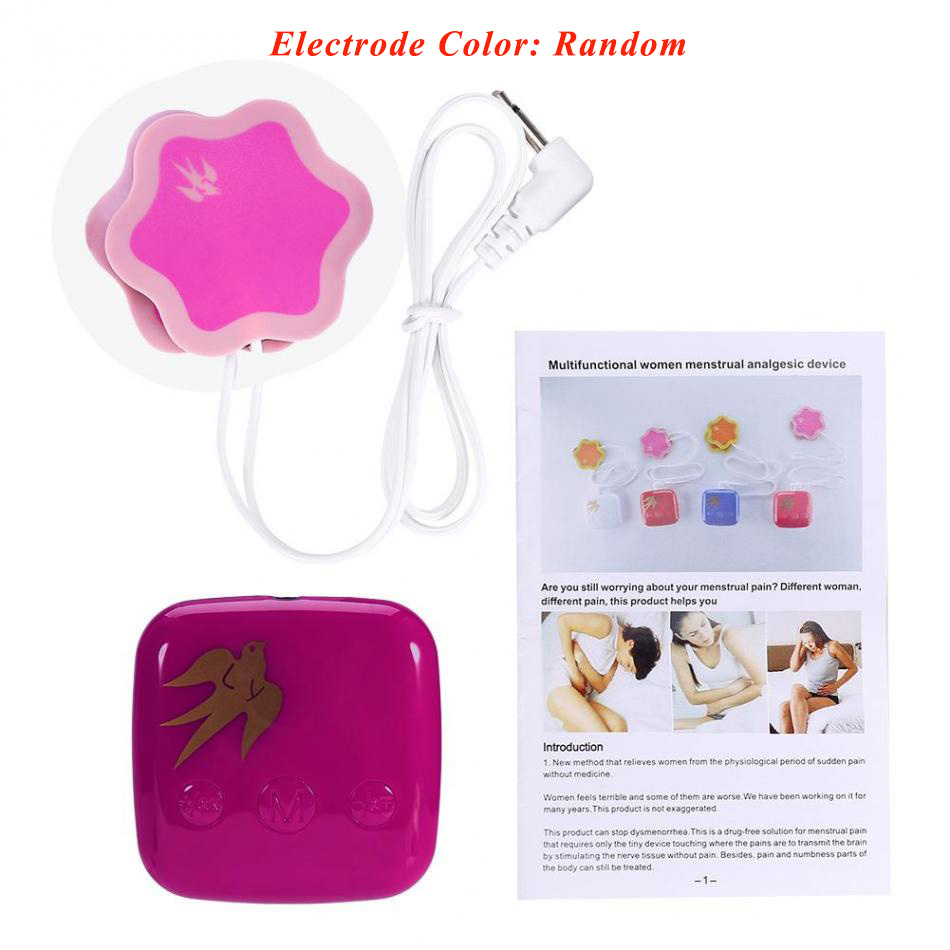 medium resolution of women period pain killing massager dysmenorrhea pain relief menstrual analgesic pain relief body massage device lady health care in massage relaxation