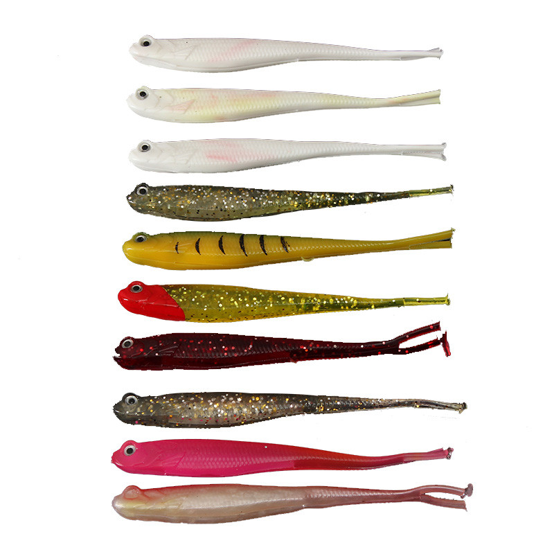 10pcs lot artificial lure for japan shad fishing for Fishing worms for sale