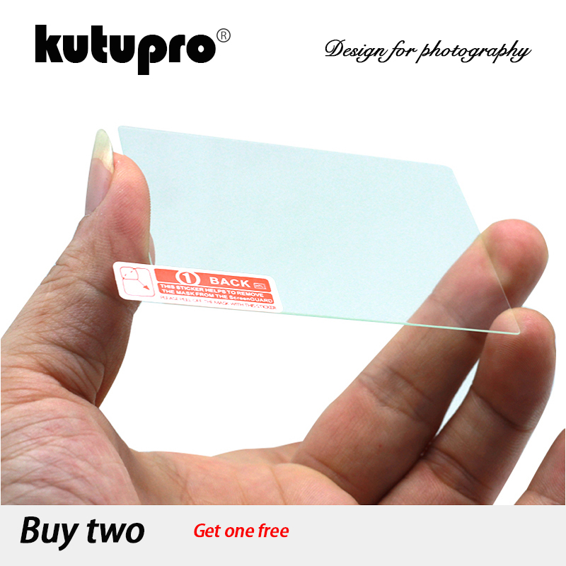 KUTUPRO 9H Tempered Glass LCD Screen Protector For Panasonic Lumix DMC-FZ300 DMC-FZ330 / DMC FZ300 FZ330 FZ200 FZ150 Camera