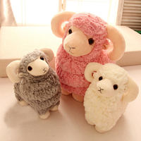Plush Toy Sheep Year Mascot Doll New Style Super Soft Cartoon Animal Dolls Best Gifts For