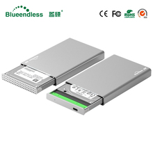 Plastic external hard drive case SATA I,II,III hdd case 2.5 usb 3.0 HDD usb 3.0 hdd enclosure 7/9.5mm hard drive disk enclosure
