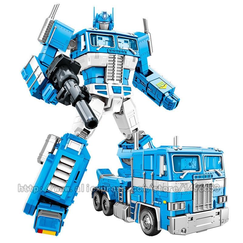 Oyuncaklar ve Hobi Ürünleri'ten Aksiyon ve Oyuncak Figürleri'de Yuexing 32CM MMP10 Dönüşüm 5 film oyuncaklar Boys Serin Robot Araba metal Alaşım MPP10 Boy Aksiyon Figürü büyük Çocuklar yetişkin Oyuncak'da  Grup 3