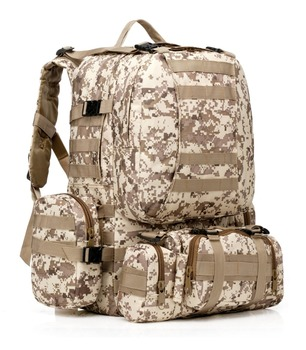 Military Assault Pack   50L Molle Assault Tactical Bag Outdoor Army Military Rucksacks Backpack Travel Camping Bag  Hiking Back Pack