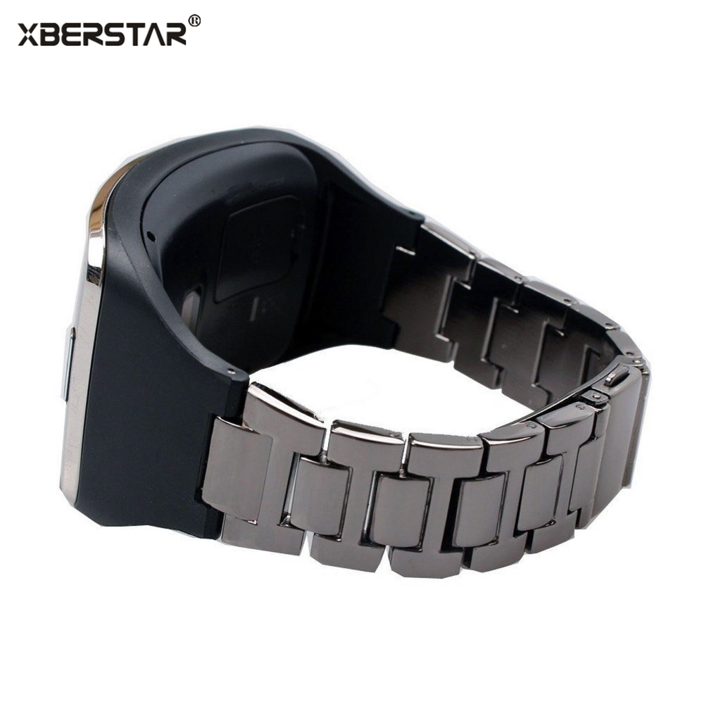 Stainless Steel Bracelet Wrist Bands Strap TPU Holder for Samsung Galaxy Gear S SM R750 Smart