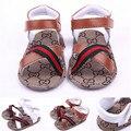 Sapatos da moda Bebê Crianças Meninos Verão Primeiro Walkers Suave Sole Crianças Interiores Sapatos Bebe sapatos Recém-nascidos de Verão