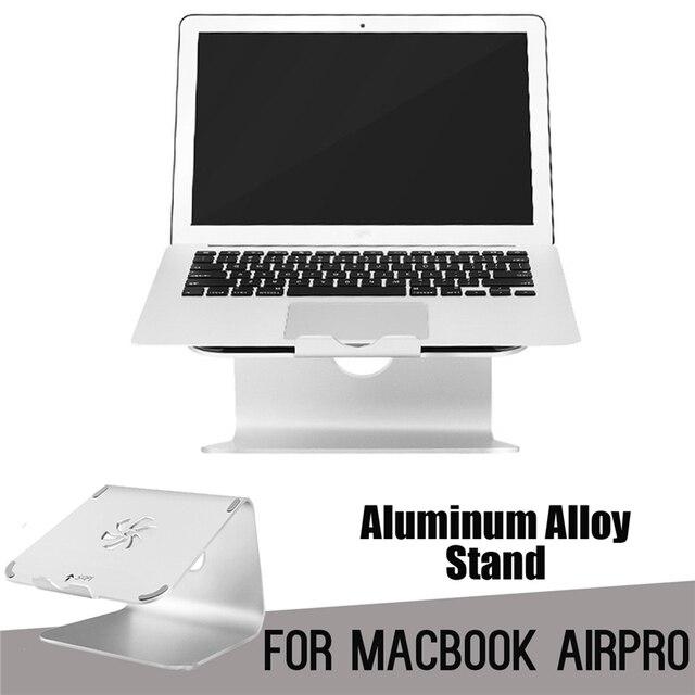 portable bureau pad montage stand ordinateurs portables pour macbook support de refroidissement pad base en metal