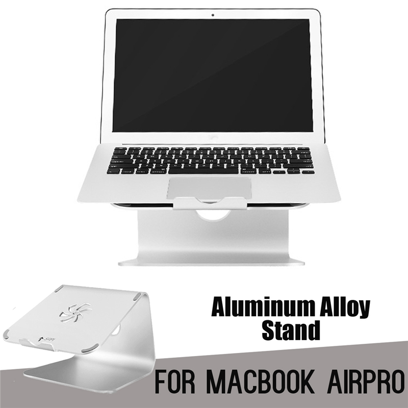 Portable Desk Pad Mount Stand Laptops For MacBook Holder Cooling pad Metal Base Notebook Rubber Anti-Skid Pad Laptop Holder best price 4pcs notebook accessory laptop stand heat reduction pad cooling feet stand holder lapdesk notebook stand 0 96