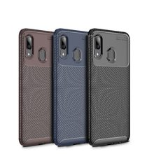 Cocose For Samsung Galaxy A10/a20 A30 A40 A50 A60 A70 A20e A2 Core Case Carbon Fiber Silicone Soft Tpu Shockproof Back Cover(China)