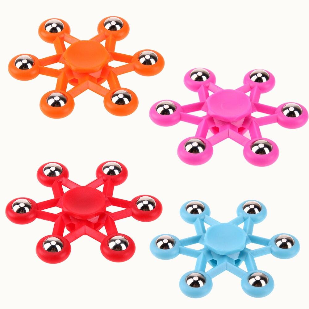 sozzy Fidget Spinner Steel Balls Hand Spinner Focus Toys