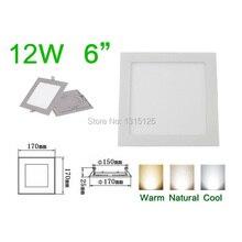 design12W LED Recessed ceiling light Square