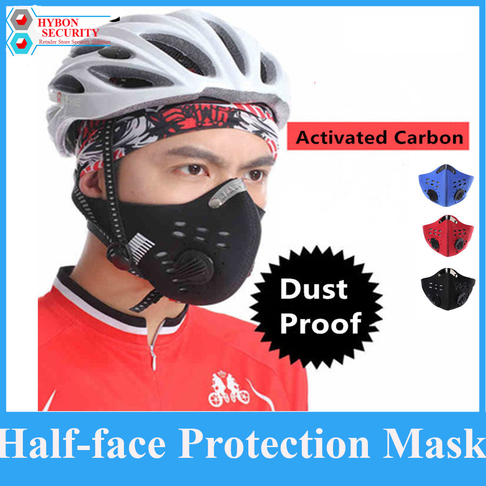 HYBON Training Mask 2.0 Sports Mask Winter Windproof Respirators Half-face Protection Mask Anti Dust Mask For Bike Bicycle Moto