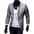 2016 Chegada Nova! da Forma dos homens Slim Fit Elegante Blazer, Casual masculino Terno Vestido Vestuário, plus Size 4XL