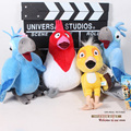 4pcs/lot Free Shipping The Movie Rio Parrot Birds Jewel Blu Nico Pedro Plush Toys Soft Stuffed Animal Dolls ANPT179-1